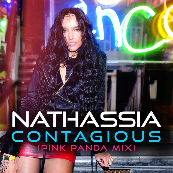 NATHASSIA Contagious (Pink Panda Mix) [Artwork 1500px]