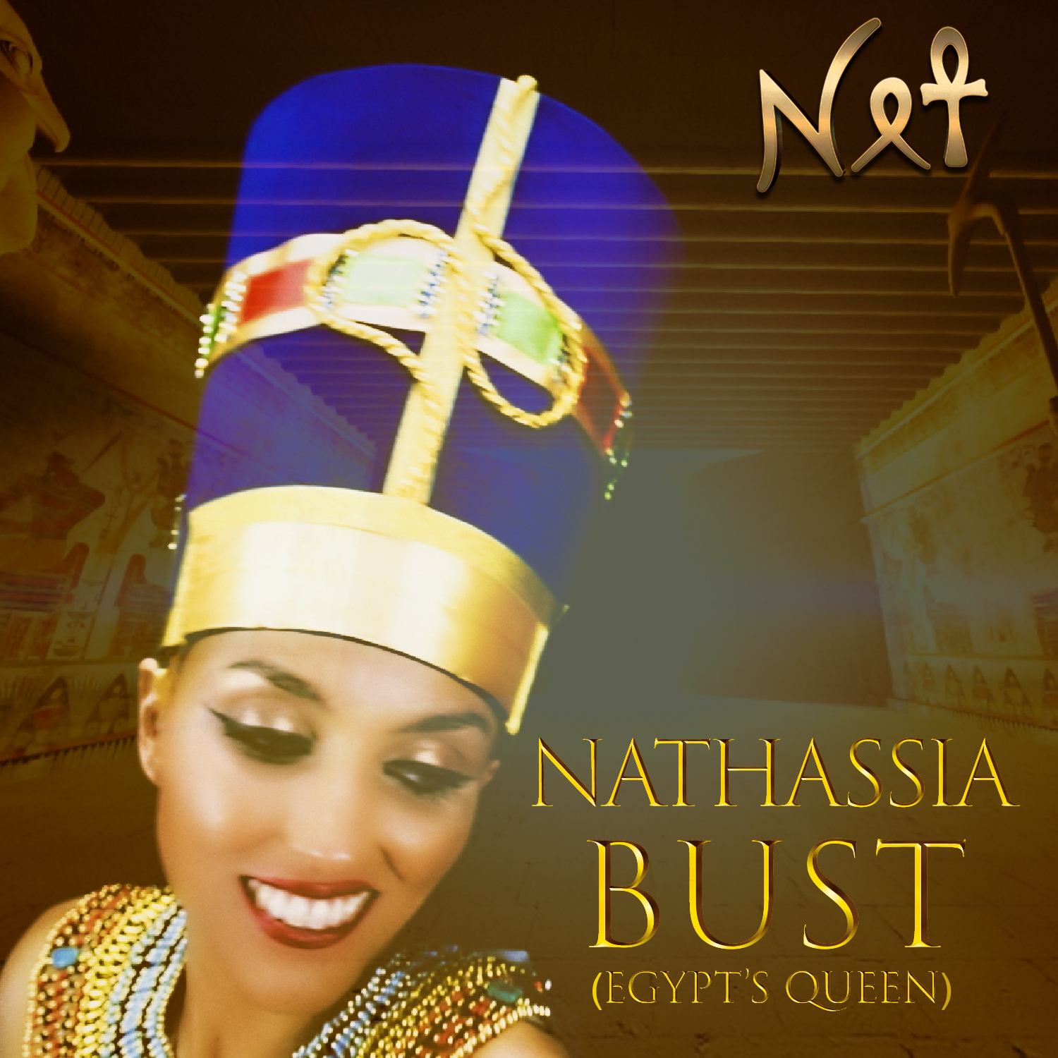NATHASSIA_Bust (Egypt's Queen)_Digital release Artwork